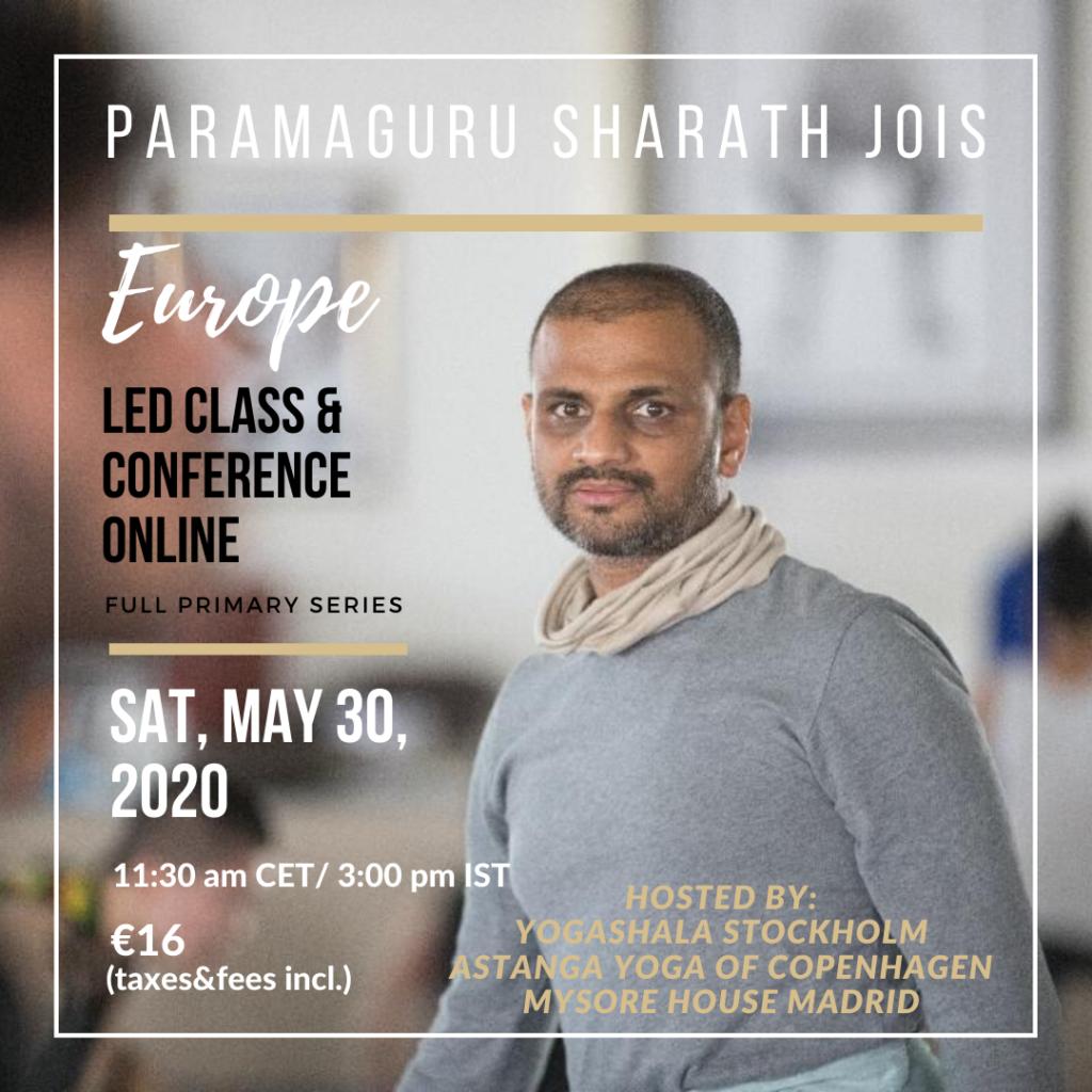 Sharathji online class